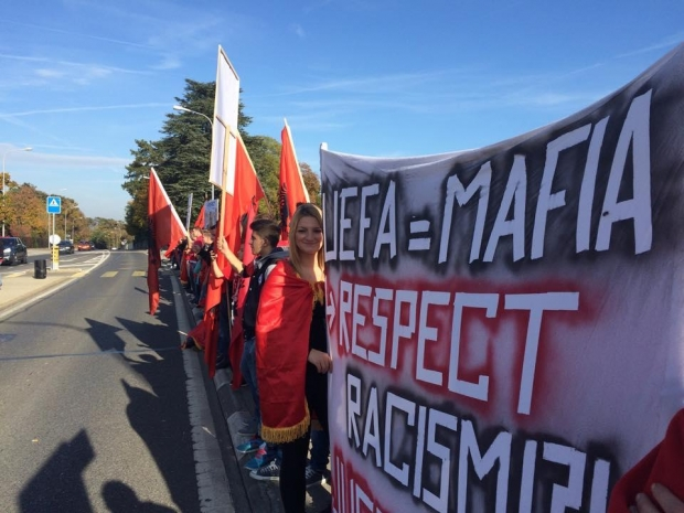 protesta uefa zvicer