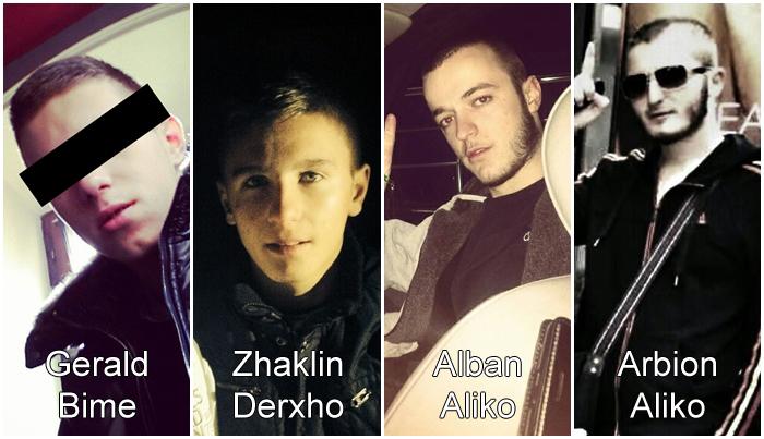 arbion, zhaklin, alban, gerald