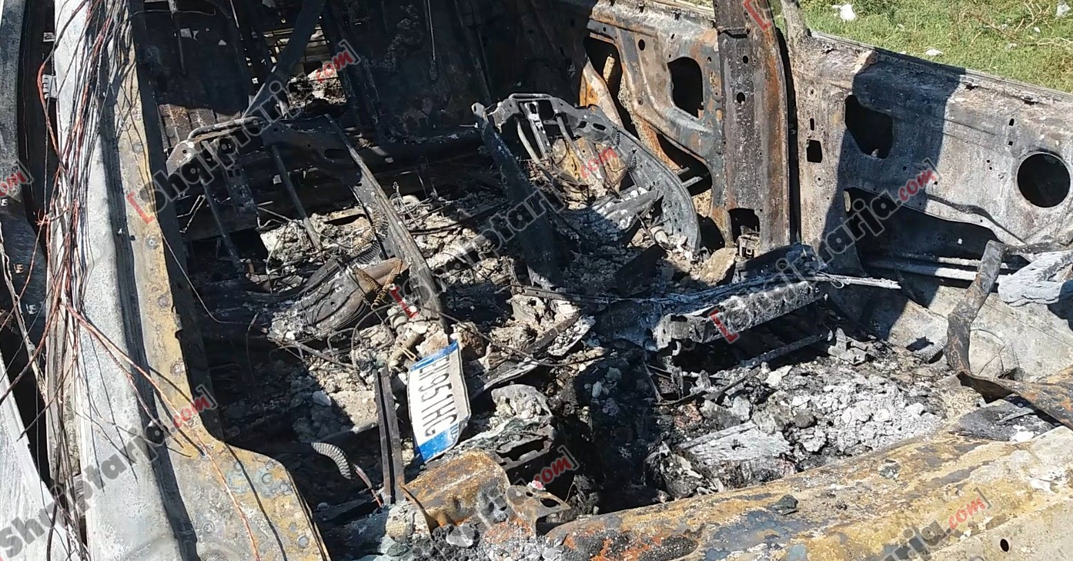 makina djegur fier llanaj atentati vlore