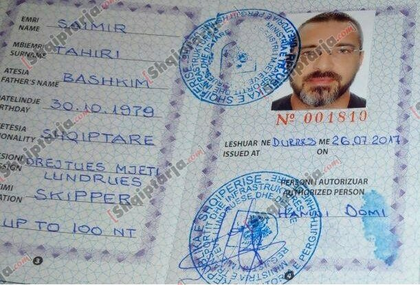 pasaporta saimir tahiri 1