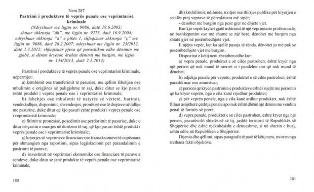 kodi penal faqe 180 -181