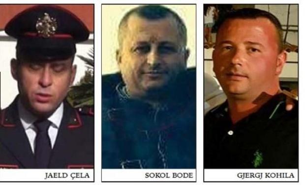 drei Offiziere