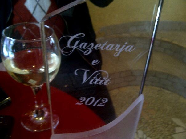 cmimi anila basha gazetaja e vitit 2012