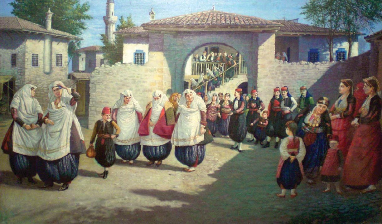 Piktura e Idromenos 1924 Dasma Shkodrane