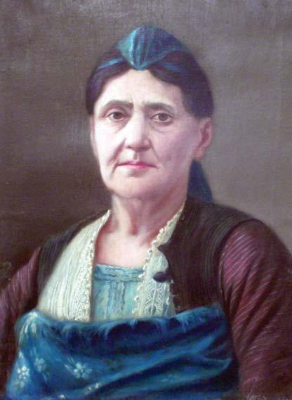 Motër Gjyzepina pikturë e Kol Idromenos