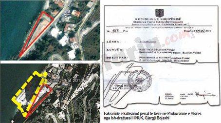 pallati i bashes dhe vendimi i bojaxhi